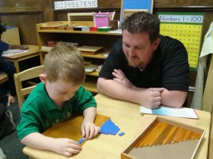 Dads, Donuts and Montessori